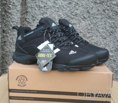 eac263b5bf89 ᐈ Кроссовки зимние мужские Adidas Climaproof black white ᐈ ...