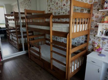 Двухъярусная кровать – «Колобок». Акция. Обухов. фото 1