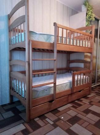 Двухъярусная кровать «Карина-Люкс». Акция. Обухов. фото 1
