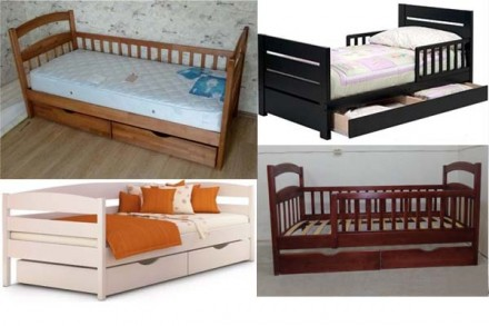 Односпальные детские кровати. Акция. Обухов. фото 1