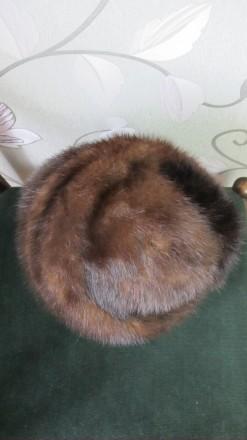 Женская шапка норка. Киев. фото 1