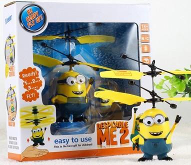 Детская игрушка Летающий Миньон, Angry Birds. Калуш. фото 1