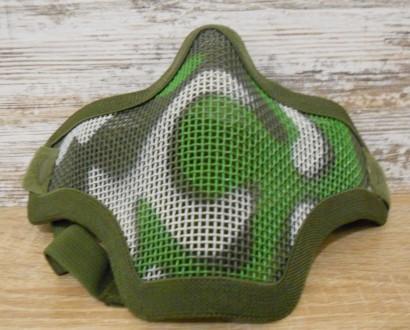 Защитная маска сетка для страйкбола. Первомайск. фото 1