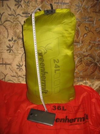 Ультралегкая сверхпрочная 24L гермосумка из Cordura 30D. Вес всего 54g. Запорожье. фото 1