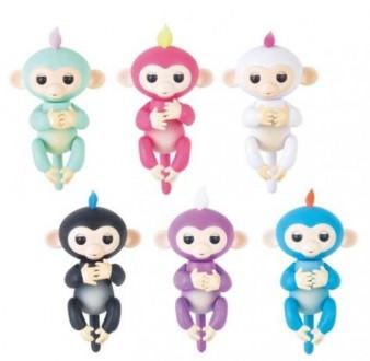 Интерактивная игрушка обезьянка Fingerlings Baby Monkey Фингерлингс. Киев. фото 1