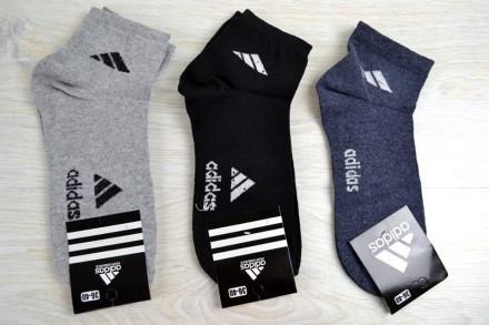 Женские носки Adidas серые,черные,синие адидас. Днепр. фото 1
