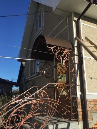 Ковані ворота.. Надворная. фото 1