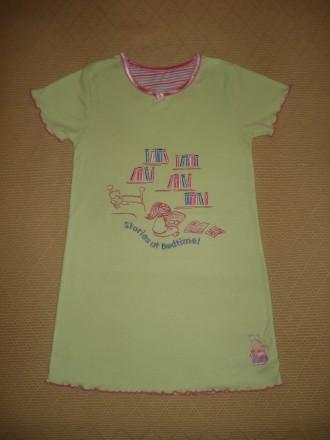 Ночная рубашка Mothercare на девочку 5-6 лет. Херсон. фото 1