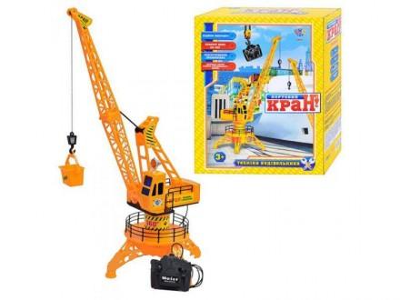 Підйомний кран, кран на управлении, игрушка для мальчика. Киев. фото 1