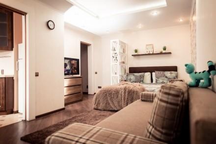 Добро пожаловать в Чернигов! Уютная современная новая студийная 1-комнатная ква. Центр, Чернигов, Черниговская область. фото 3