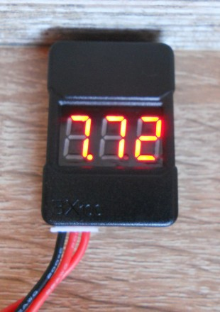 Индикатор напряжения 1-8 S Li-Po. Первомайск. фото 1