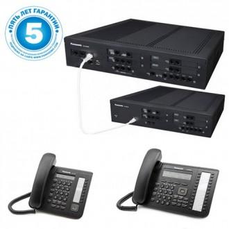 Panasonic KX-NS500UC, IP-АТС: 12 внешних, 64 внутренних, 2 системных порта. Киев. фото 1