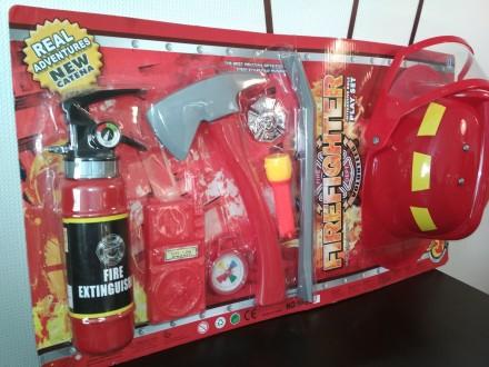 Набір пожежника, игрушка для мальчика, игровой набор. Киев. фото 1