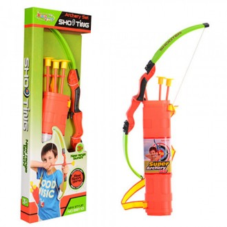 Лук зі стрілами, колчан, игрушка для мальчика, лук со стрелами. Киев. фото 1