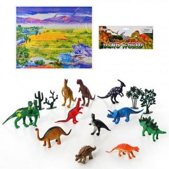 Набір фігурок, динозаври, игрушка животные ( 12 ). Киев. фото 1