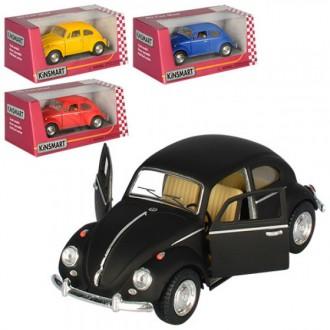 Модель авто Volkswagen Beetle, инерционная машинка для мальчика. Киев. фото 1