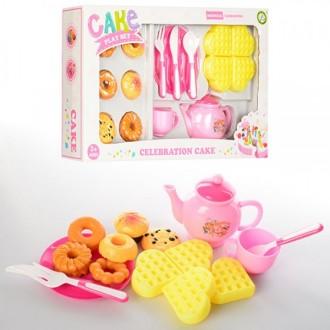 Посуд з тістечками, игровой набор для девочки. Киев. фото 1