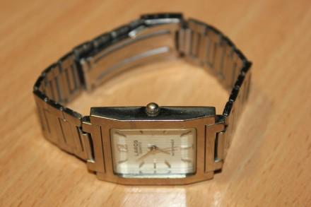 Часы Laros (Япония) унисекс. Рабочие, требуется замена батарейки. Отправка по . Бердянск, Запорожская область. фото 3