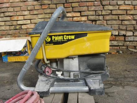 Окрасочный аппарат Wagner Paint Crew — поршневой окрасочный агрегат высокого дав. Херсон, Херсонская область. фото 2