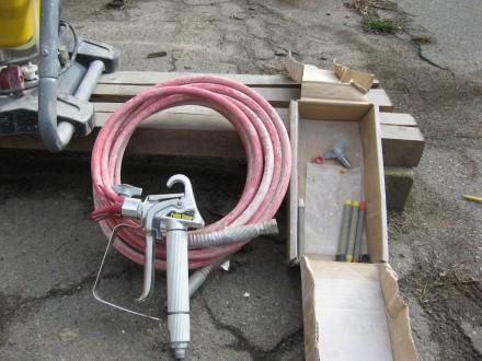 Окрасочный аппарат Wagner Paint Crew — поршневой окрасочный агрегат высокого дав. Херсон, Херсонская область. фото 3