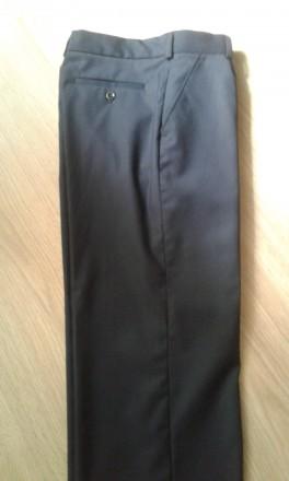 Продам школьные брючки на мальчика, ни разу не одевались. Длина брюк - 90 см, в . Чернигов, Черниговская область. фото 3
