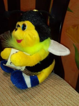 Игрушка мягкая пчелка. Черкассы. фото 1