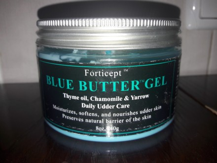 Forticept™ Blue Butter Gel