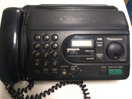 Факс Panasonic KX-FT31RS. Чернигов. фото 1