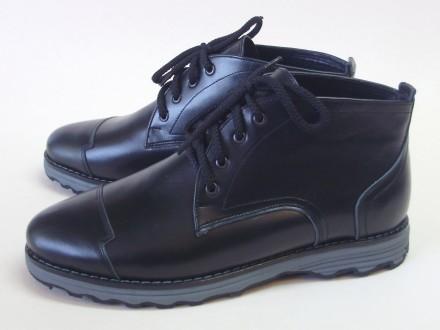 Ботинки на шнурке. К5089.  Материал верхней части: Натуральная кожа.    Матери. Каменское, Днепропетровская область. фото 2