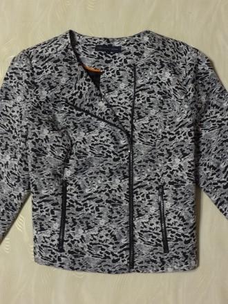 Пиджак на молнии Marks&Spencer, р.18. Сумы. фото 1