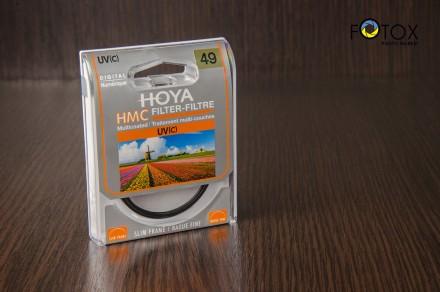 Фильтр Hoya HMC UV(C) 49 мм (Made in Japan). Днепр. фото 1