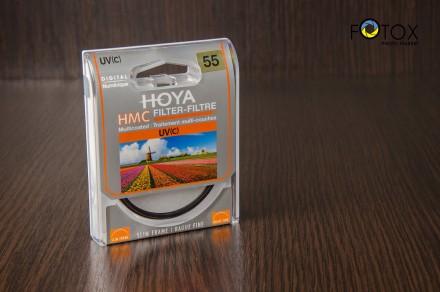 Фильтр Hoya HMC UV(C) 55 мм (Made in Japan). Днепр. фото 1