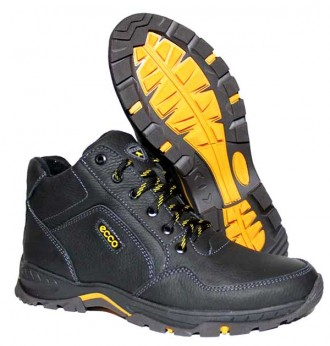 Зимние мужские ботинки ЕССО из натуральной кожи + подарки.. Киев. фото 1