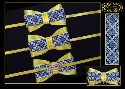 Продаю галстук-бабочку для мальчика ручной работы. Изделие выполнено из атласно. Кривий Ріг, Днепропетровская область. фото 1
