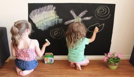 Наклейка на стену для рисования мелом 60х200см. Переяслав-Хмельницкий. фото 1