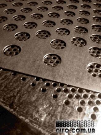 Решета пробивные 990 х 990 мм,Оцинкованные Толщ 1,0; 0,8;0,55 мм Круглые,Щелевид. Днепр. фото 1