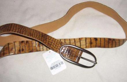 Продам женский пояс под крокодила. Запорожье. фото 1
