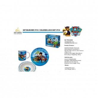 Набор детской посуды Disney PAW Patrol (PPA102034). Переяслав-Хмельницкий. фото 1