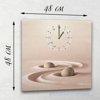Часы настенные 50х50 см разные дизайны (можно любое фото). Київ. фото 1