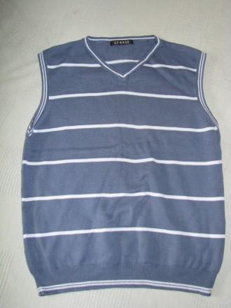 Жилетка школьная в школу на рубашку для мальчика рост 140 см. Чернігів. фото 1