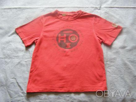Стильная футболка длина- 48 см длина рукава-17 см ширина в плечах-31 см шири. Никополь, Днепропетровская область. фото 1