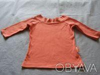 Классная стильная розовая футболка.По вороту-вышивка.Рукав укороченный. длина-3. Никополь, Днепропетровская область. фото 6