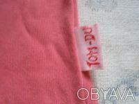 Классная стильная розовая футболка.По вороту-вышивка.Рукав укороченный. длина-3. Никополь, Днепропетровская область. фото 4
