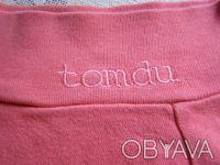 Классная стильная розовая футболка.По вороту-вышивка.Рукав укороченный. длина-3. Никополь, Днепропетровская область. фото 5
