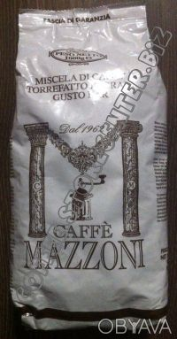 КОФЕ (кава) В ЗЕРНАХ Mazzoni Италия. Чернигов. фото 1