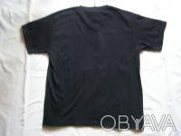 Классная стильная футболка для подростка черного цвета.100% хлопок.В отличном со. Никополь, Днепропетровская область. фото 3