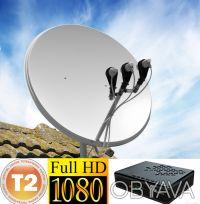 Спутниковое ТВ и УСТАНОВКА,настройка/тюнера USB,HDMI,SMART-IPTV/DVB-Т2. Днепр. фото 1
