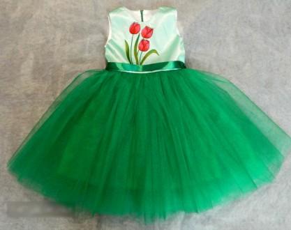 Неподражаемые праздничные платья для наших крошек 80-122см, разные модели. Сумы. фото 1