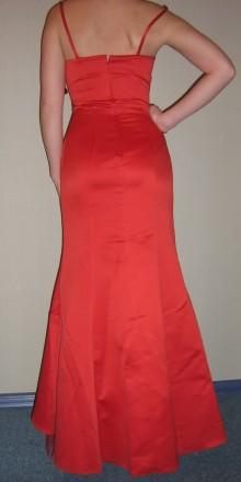 Продам вечернее платье-рыбка, для дружки или креативной невесты, верх - плотный . Запорожье, Запорожская область. фото 4