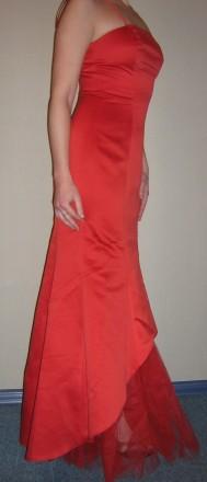 Продам вечернее платье-рыбка, для дружки или креативной невесты, верх - плотный . Запорожье, Запорожская область. фото 5